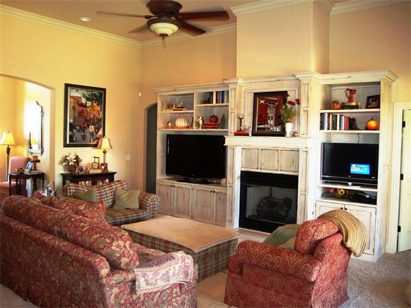 Custom Fireplace & Entertainment Center Cabinetry